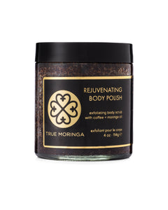True Moringa Rejuvenating Body Polish 4oz Jar FREE SHIP - Junkdrawercoolfinds.com