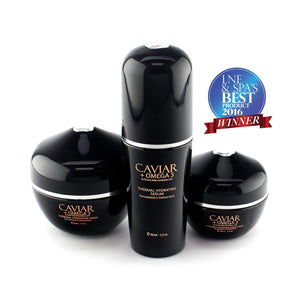 Caviar + Omega 3, Thermal Hydrating Set - Junkdrawercoolfinds.com