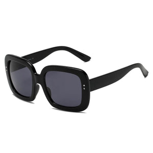 Women's Retro 100% UV Vintage Bold Square Oversize Sunglasses 3 colors - Junkdrawercoolfinds.com