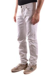 "New Daniele Alessandrini Men's White Jeans, Size 32"" & 34"" Waist - Junkdrawercoolfinds.com"