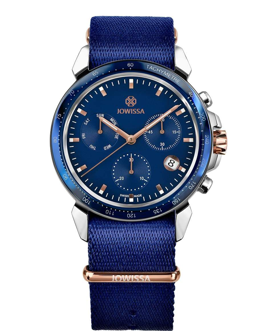 New Jowissa LeWy 9 Swiss Made Blue Men's Watch - Junkdrawercoolfinds.com