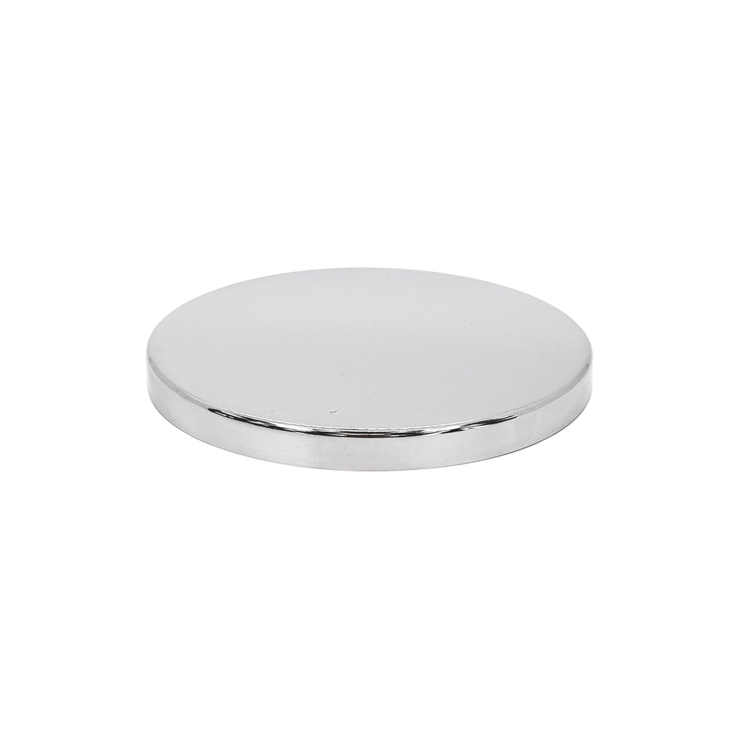 Luxury Silver Lid For 55cl Bowl Candle Glass - Box Of 12