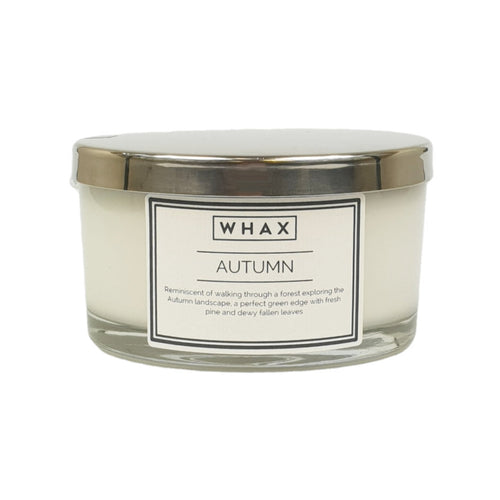3 wick autumn fragrance scented candle
