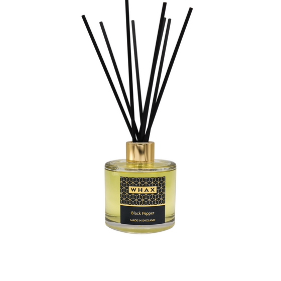 Black pepper fragrance diffuser | made in England | Made in Herefordshire | whax.co.uk | gift for him | gift for her | Molton Brown