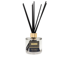 Load image into Gallery viewer, white grapefruit fragrance diffuser | whax.co.uk | white grapefruit reed diffuser | made in England | gift for her, gift for him