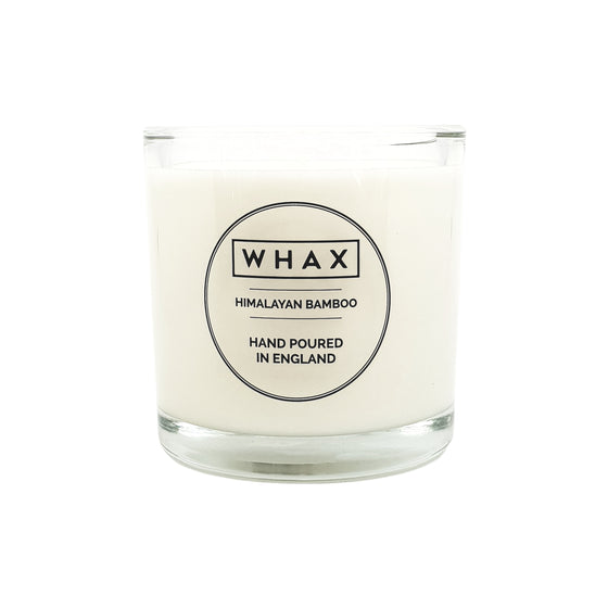 himalayan bamboo scented candle Simplistic design subtle scented candle for those who don't like overpowering scents