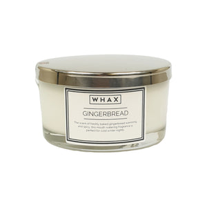 gingerbread luxury scented candle