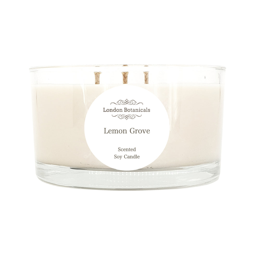 Lemon Grove 400g Highly Scented 100% soy candle