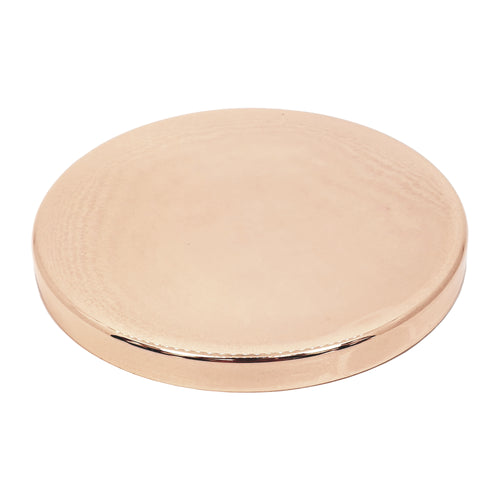 Luxury Rose Gold Lid For 50cl Candle Glass - Box Of 12