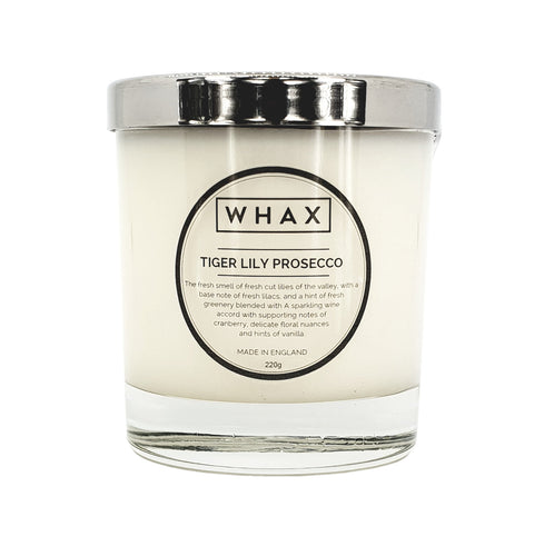 prosecco scented candle | handmade scented candle | Herefordshire