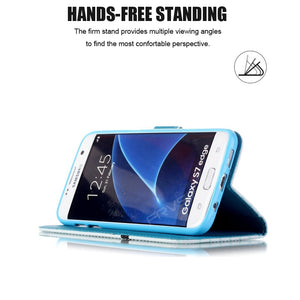 Handyhülle Flip für  iphone X 5 5s SE 6 6s 7 8 plus for Samsung galaxy S3 S4 S5 Neo S6 S7 edge