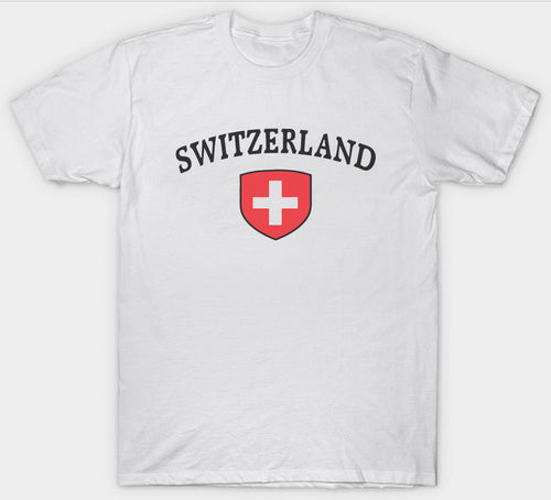 T-Shirt Switzerland Schweiz