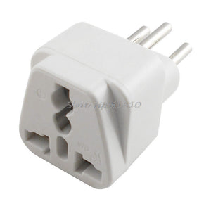 Reisestecker Universal UK/US/EU zu Schweiz AC Power Plug Travel Adapter