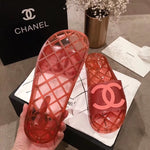 CHANEL TRANSPARENT SANDALS - vlixcogoods
