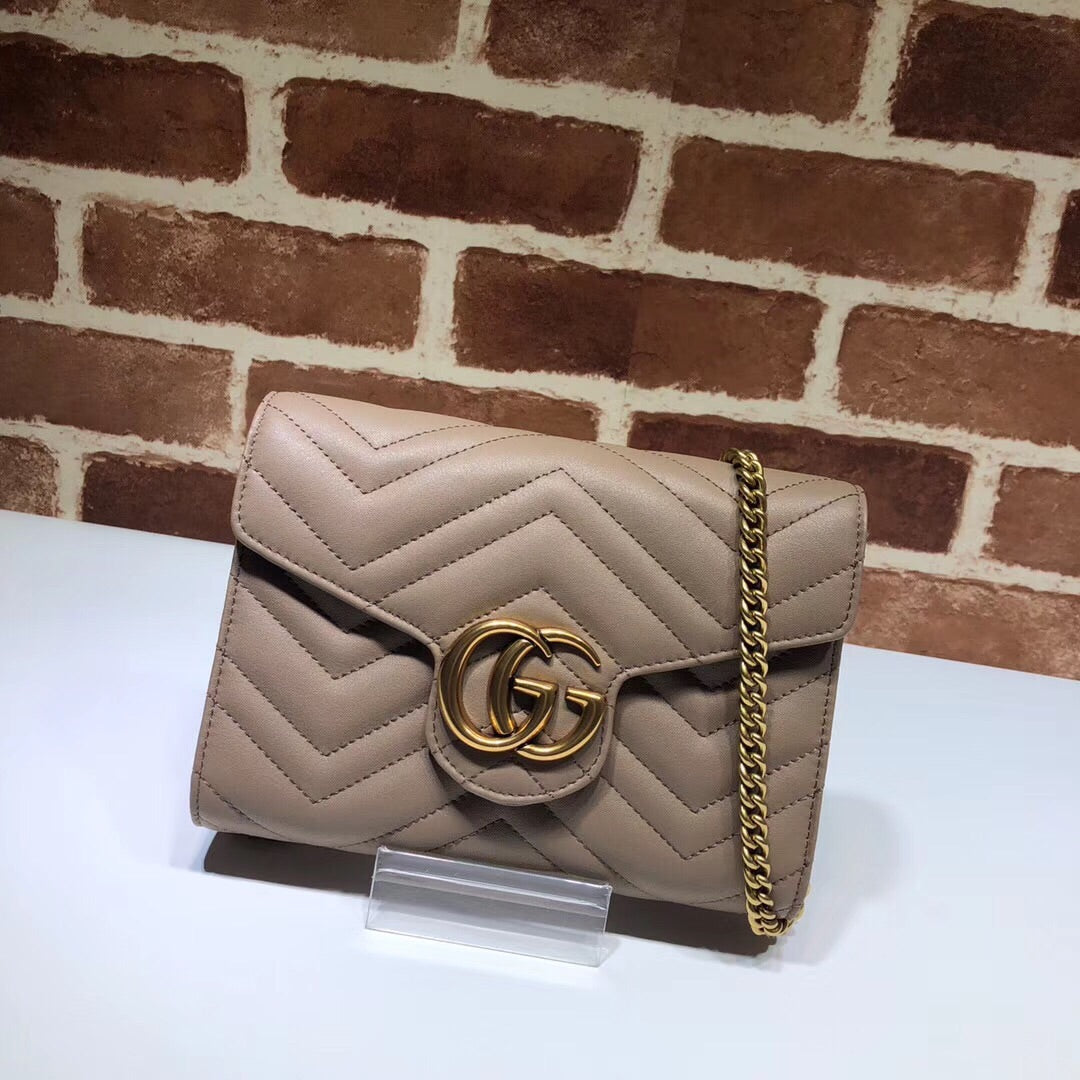 GUCCI MINI MATELASSE CHAIN BAG