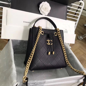 CHANEL DRAWSTRING BAG GHW - vlixcogoods