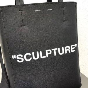 OFFWHITE SCULPTURE TOTE BAG
