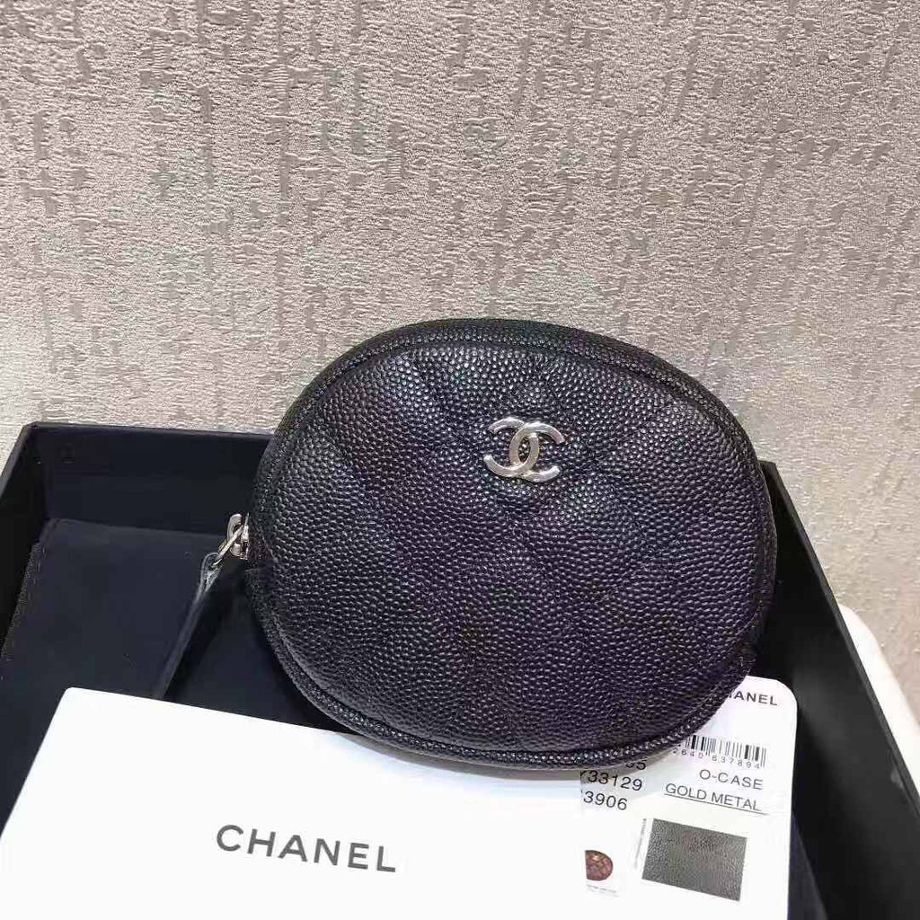 CHANEL ROUND COIN PURSE - vlixcogoods