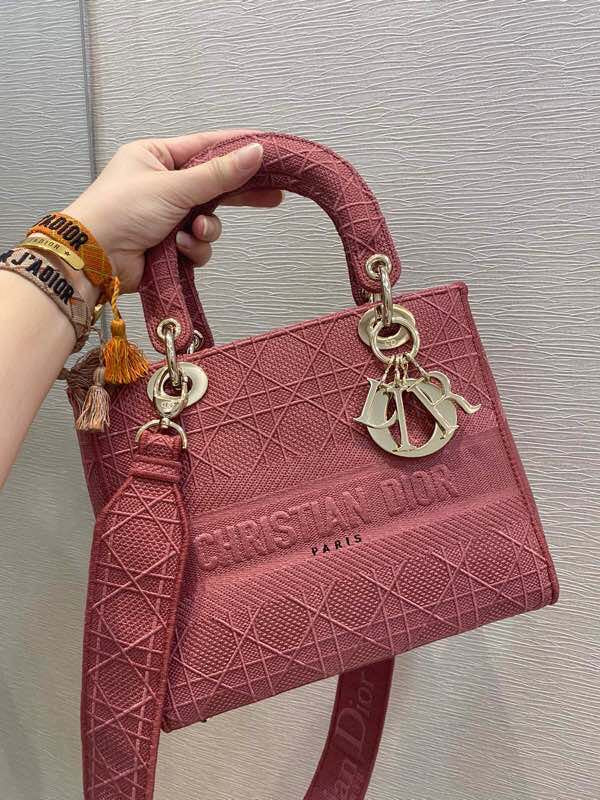 LADY DIOR D-LITE BAG MEDIUM