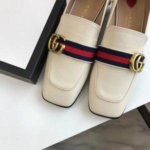 GUCCI LOAFERS MID-HEELS