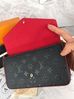 LV POCHETTE FÉLICIE WALLET ON CHAIN