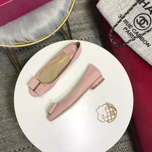 S. FERRAGAMO FLAT SHOES