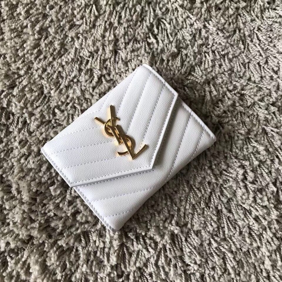 YSL ENVELOPE COMPACT WALLET