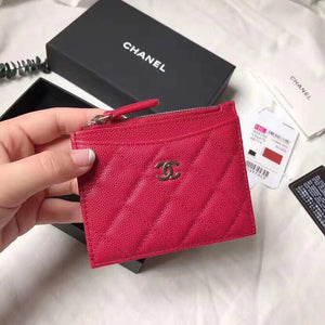 CHANEL CLASSIC ZIPPER CARD HOLDER - vlixcogoods