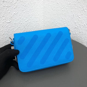 OFFWHITE MINI BINDER CLIP BAG