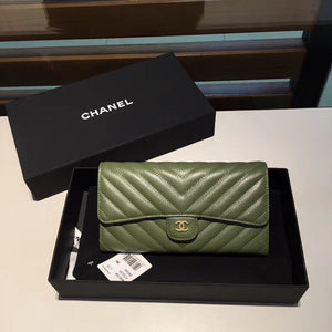 CHANEL CHEVRON LONG FLAP WALLET - vlixcogoods