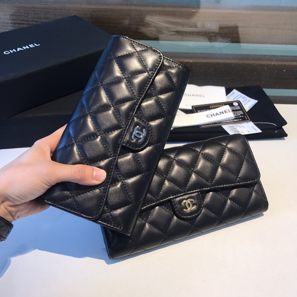 CHANEL CLASSIC LONG FLAP WALLET