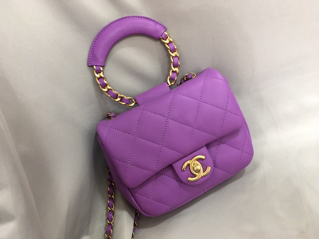 CHANEL TOP HANDLE BAG 20
