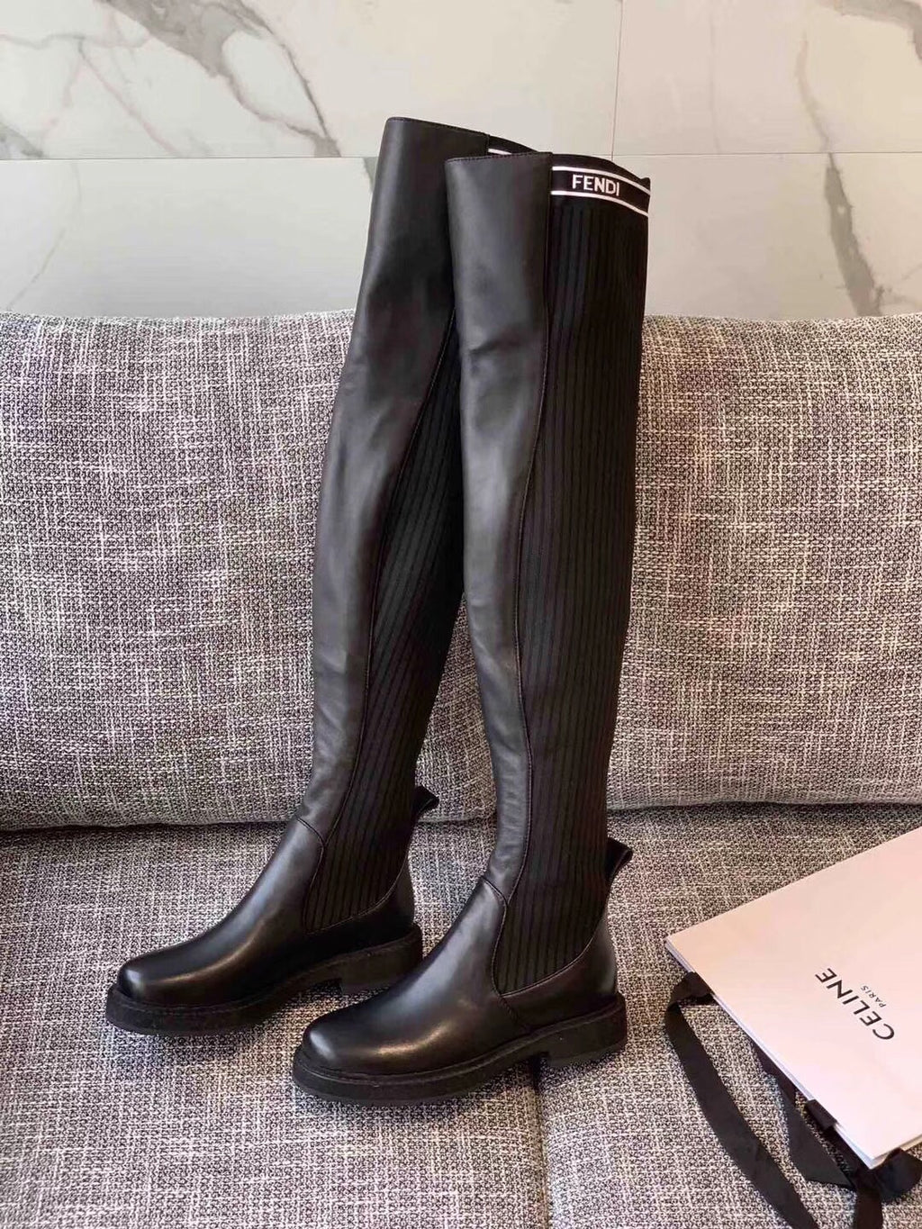 FENDI THIGH HIGH BOOTS