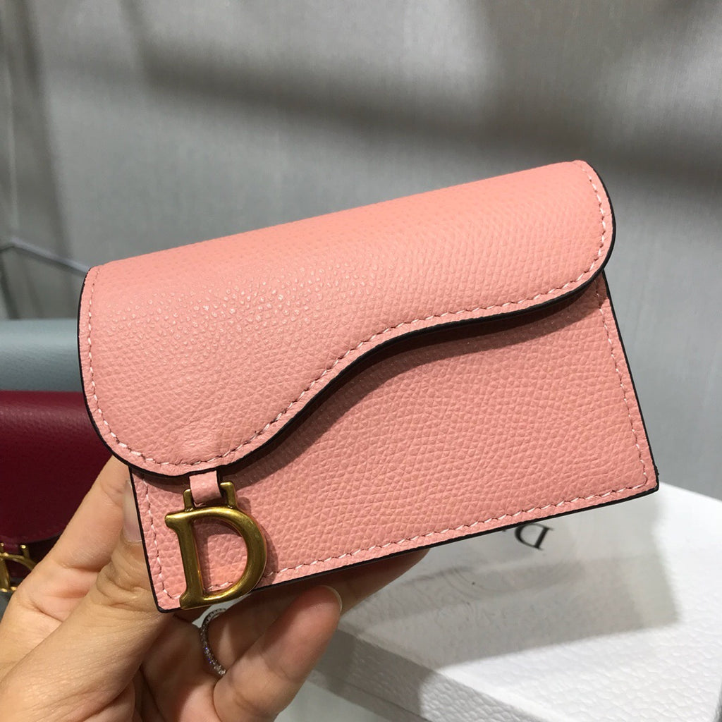DIOR SADDLE CARD HOLDER