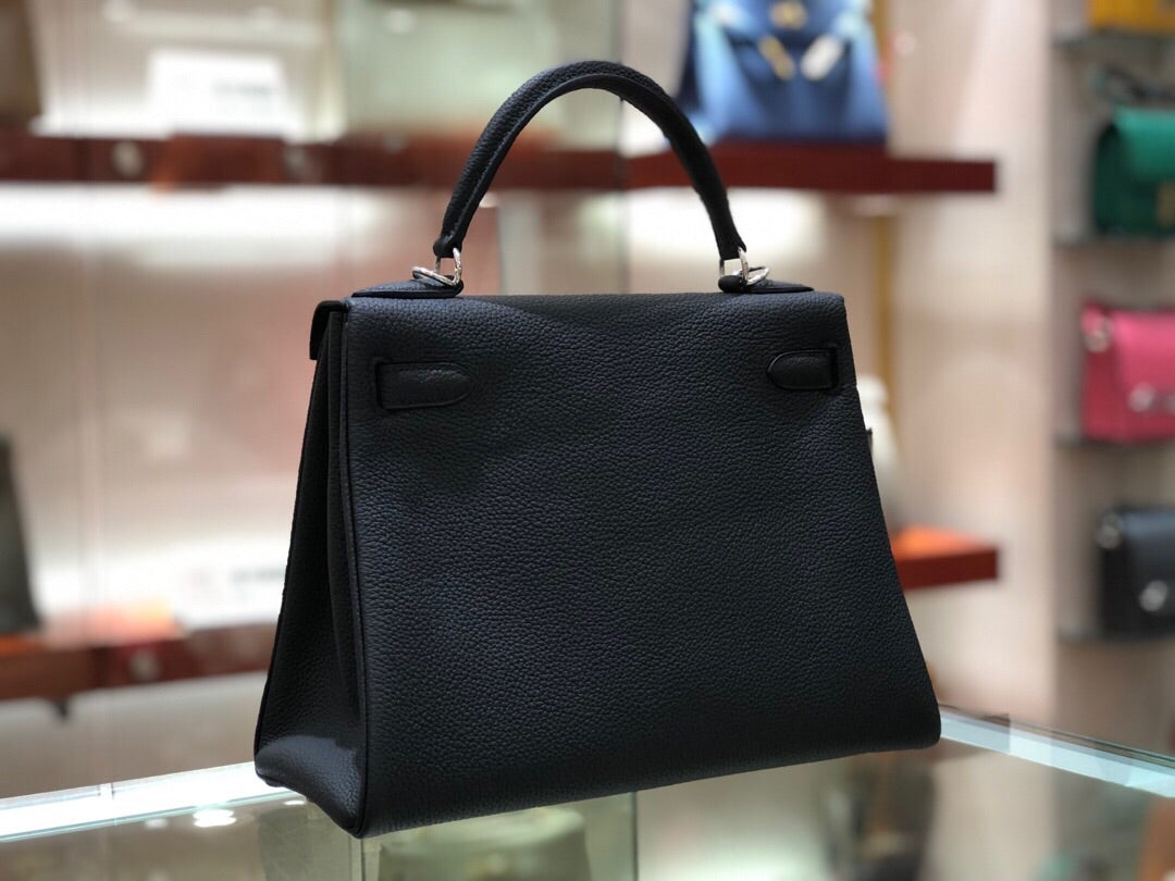 HERMES KELLY 28 cm TOGO LEATHER FULL HANDMADE - vlixcogoods