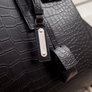 YSL SAC DE JOUR SMALL BAG CROCO EMBOSSED