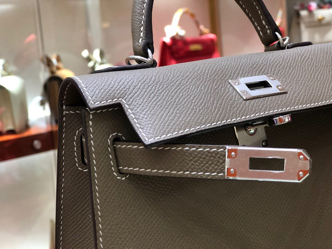 HERMES KELLY MINI EPSOM FULL HANDMADE