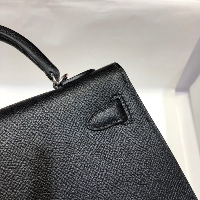 HERMES MINI KELLY 19 epsom full handmade