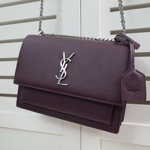 YSL SUNSET BAG MEDIUM GRAINED