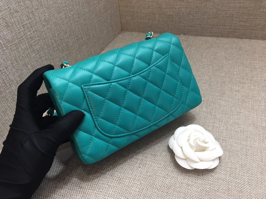 CHANEL CLASSIC MINI BAG LAMBSKIN - vlixcogoods