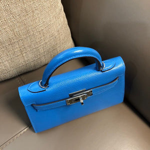 HERMES KELLY MINI 19 chevre full handmade
