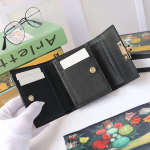 GUCCI PADLOCK BEE STAR MINI WALLET