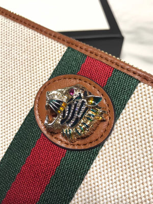 GUCCI RAJAH ZIPPY WALLET