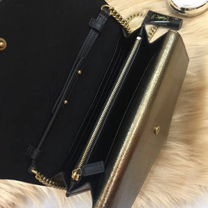 YSL SULPICE MEDIUM TRIPLE V FLAP BAG