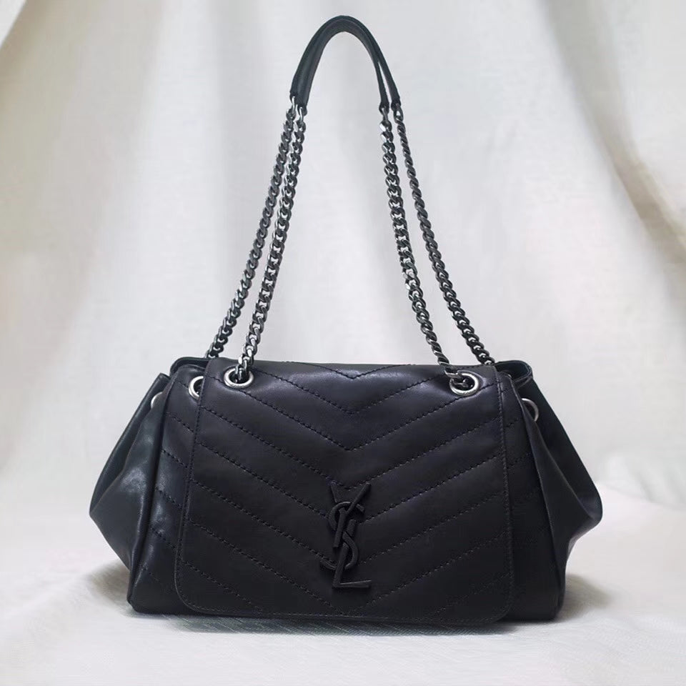 YSL NOLITA VINTAGE LEATHER BAG