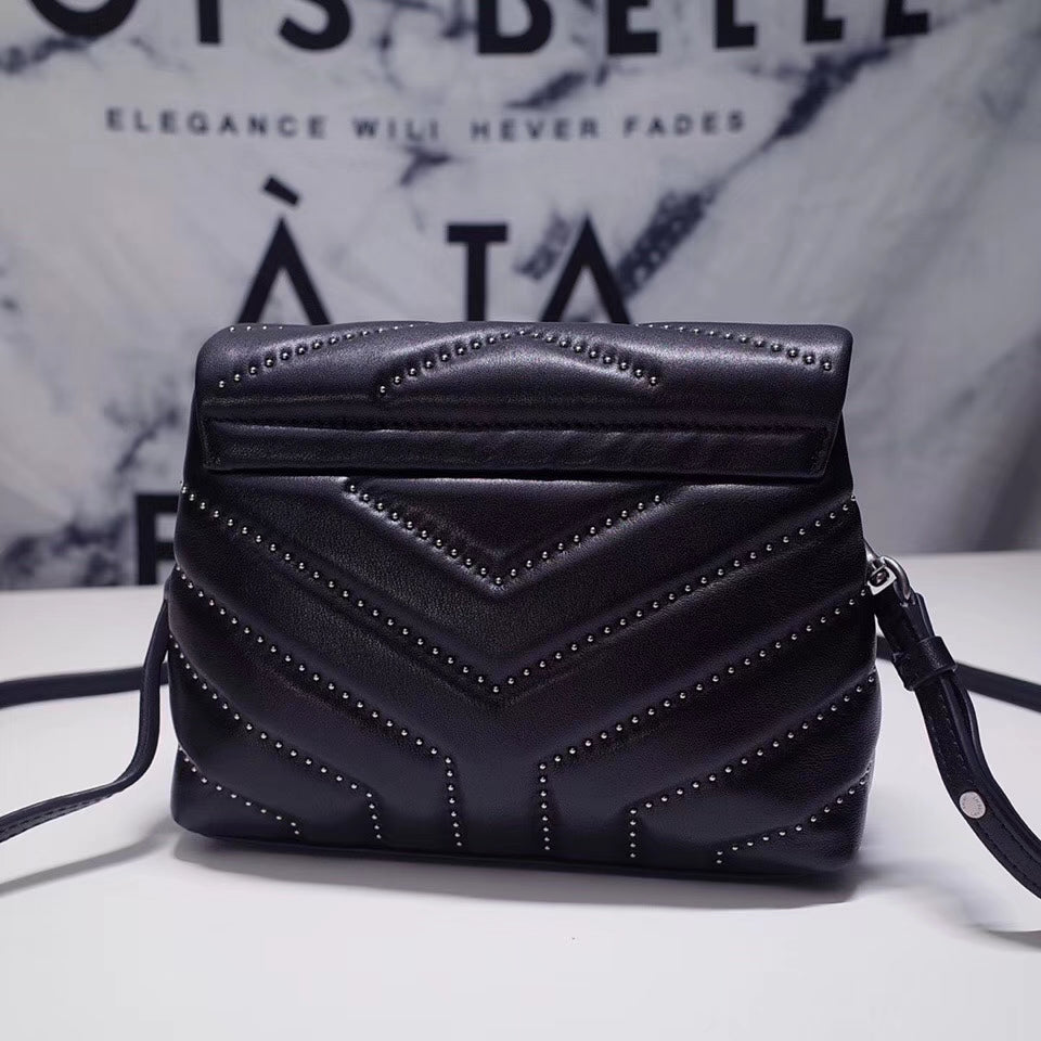 YSL OBLIQUE SATCHEL BAG
