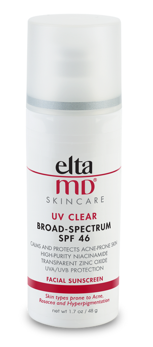 EltaMD UV Clear Facial Sunscreen Untinted Broad-Spectrum SPF 46