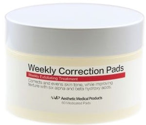 WEEKLY CORRECTION PADS 60 PADS
