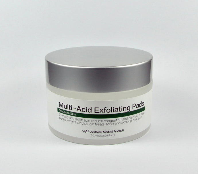 MULTI-ACID EXFOLIATING PADS