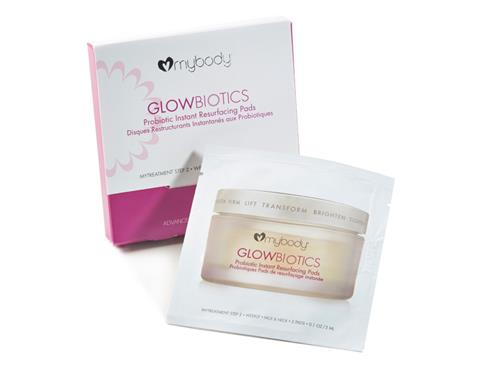 GLOWBIOTICS Probiotic Instant Resurfacing Pads Travel Pack